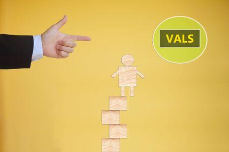 attitudes: Value,Attitudes,and Lifestyles Stock Photo