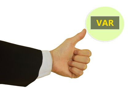 are added: Value Added Reseller Stock Photo