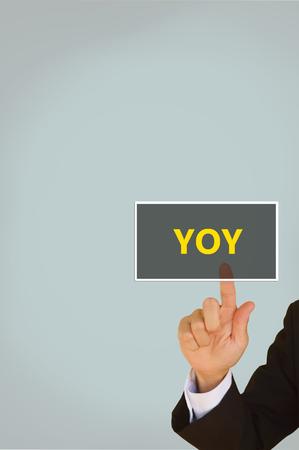 yoy: Year on Year