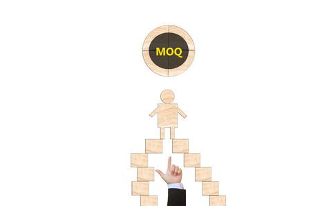 quantity: minimum order quantity Stock Photo