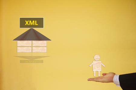 markup: Extensible Markup Language