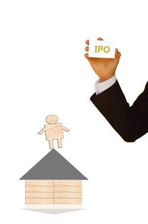 initial public offering: initial public offering