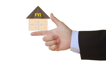 your: For Your Information Stock Photo
