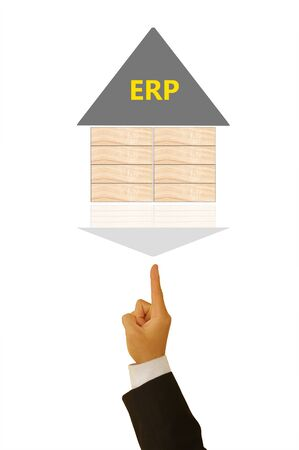 enterprise: enterprise resource planning Stock Photo