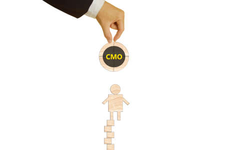 the managing: chief managing  officer Stock Photo