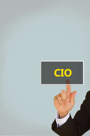 chief information  officer Banco de Imagens