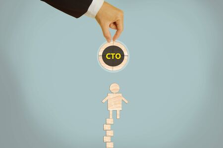 technology: chief technology officer Stock Photo