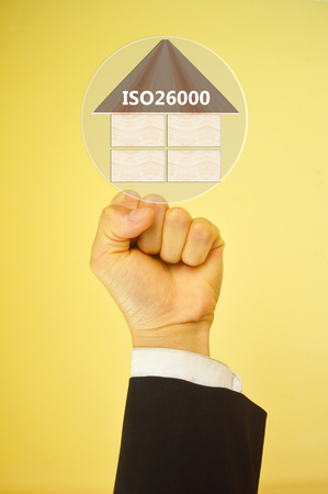 assess: ISO 26000 specifying for  the international standard developed to help organizations effectively assess and address those social responsibilities