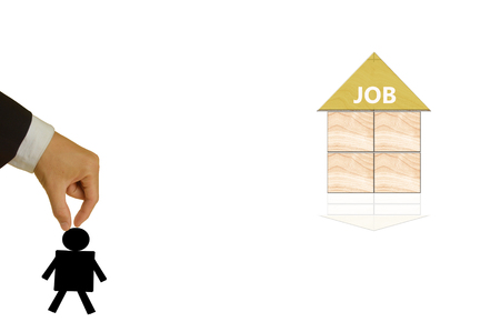 search query: business concept of job
