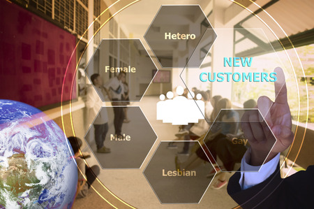 pressing new customers with decorative detail, vintage tone , image element furnished by NASA