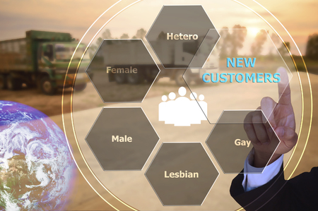 hetero: pressing new customers with decorative detail, vintage tone , image element furnished by NASA