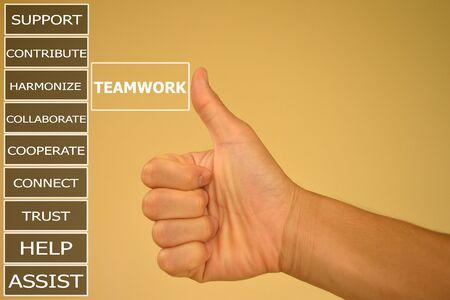 harmonize: pressing like  teamwork and small detail