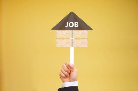 job posting: business concept of job