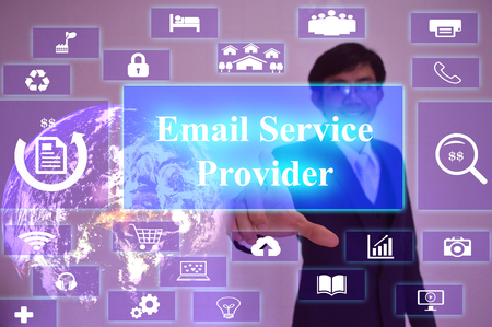 esp: ESP  meaning of Email Service Provider - business concept,image element furnished by NASA