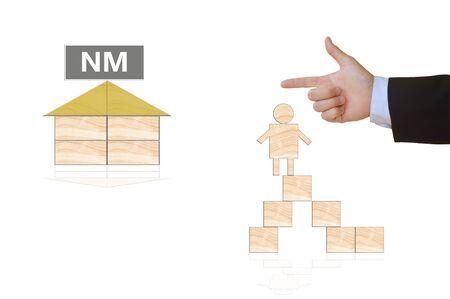 niche: niche marketing-business concept