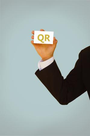 response: quick response code-business concept