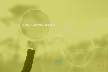 personal development concept Reklamní fotografie