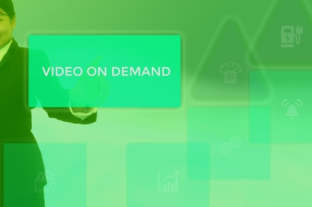 VIDEO ON DEMAND - customer want concept