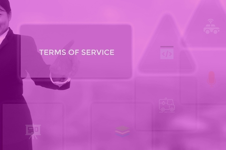 terms of service concept 스톡 콘텐츠 - 115814214