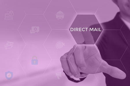 Direct Mail - business concept