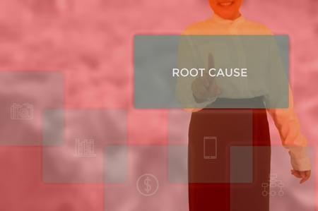 root cause analysis (RCA)-problem solving concept Standard-Bild - 115814519