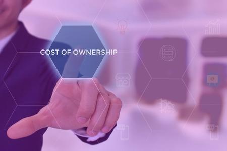 total cost of ownership (TCO) concept Foto de archivo