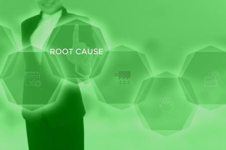 root cause analysis (RCA)-problem solving concept Standard-Bild - 115815828