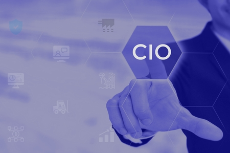chief information officer (CIO) concept Banco de Imagens