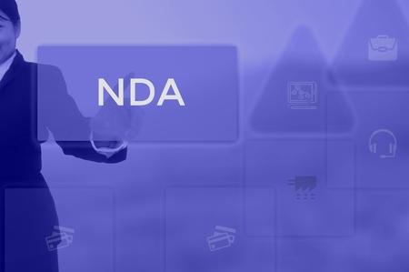 select icon NDA or Non-Disclosure Agreement