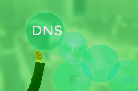 domain name system (DNS) concept
