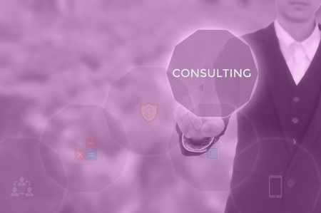CONSULTING- business adviser concept
