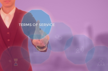 terms of service concept