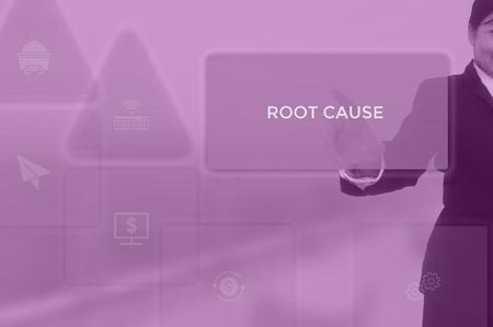 root cause analysis (RCA)-problem solving concept Standard-Bild - 115818289