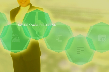 sales qualified lead (SQL) concept