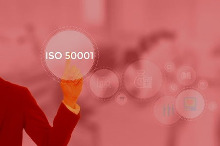 ISO 50001 is based on the management system model of continual improvement - business concept