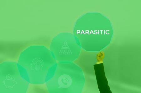 PARASITIC - technology and business concept