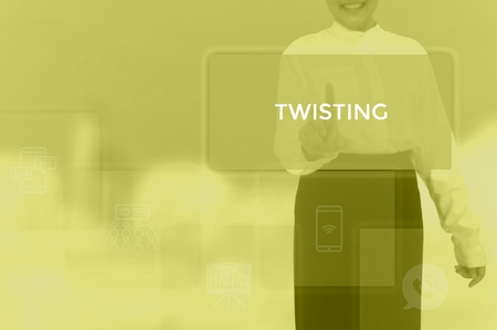 TWISTING - technology and business concept