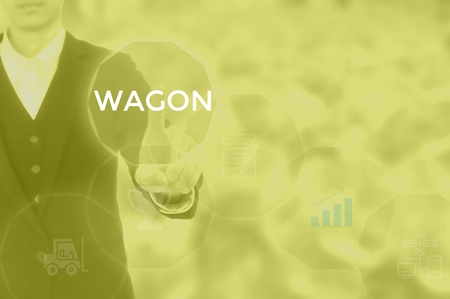 WAGON - technology and business concept