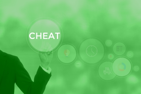 CHEAT - technology and business concept
