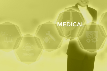 MEDICAL - technology and business concept