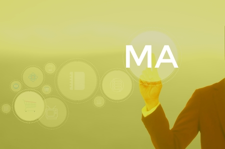 Marketing Automation - business concept Banco de Imagens