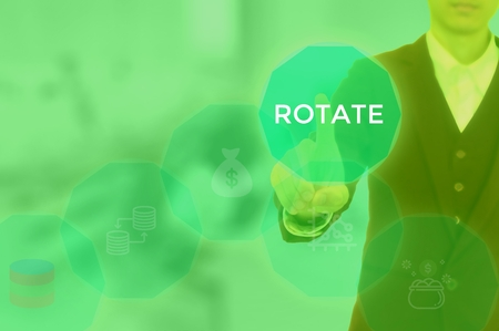 ROTATE - technology and business concept