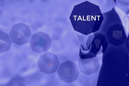 TALENT - technology and business concept