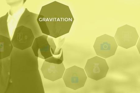 GRAVITATION - technology and business concept 版權商用圖片