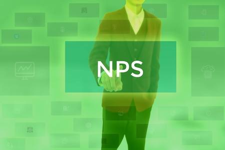 Net Promoter Score - business concept