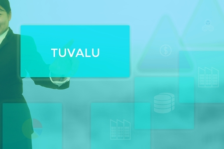 TUVALU - technology and business concept
