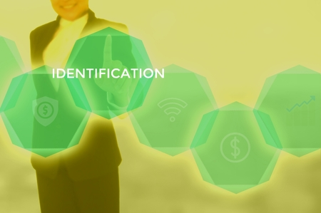 IDENTIFICATION - technology and business concept