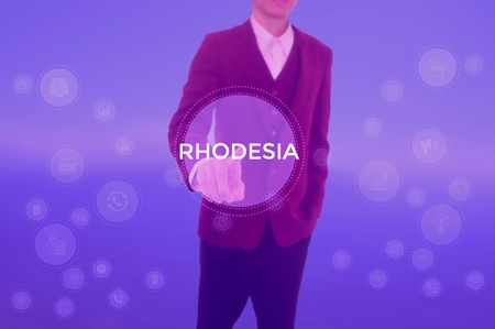 RHODESIA - technology and business concept