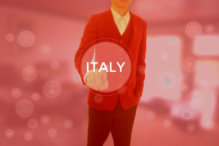 ITALY - technology and business concept