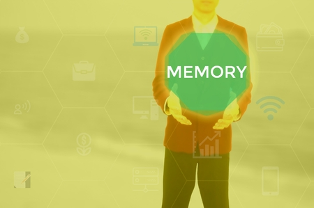 MEMORY - technology and business concept
